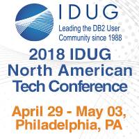 IDUG Philadelphia Apr 29-May 3 2018