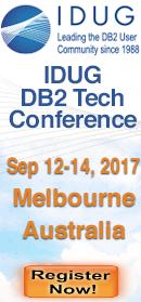 IDUG Australia Sept 12-14