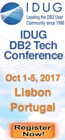 IDUG EMEA Lisbon Oct 1-5