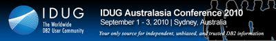 IDUG AP 2010 Logo