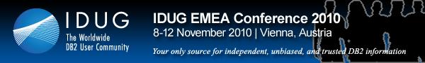 IDUG EMEA 2010 Logo