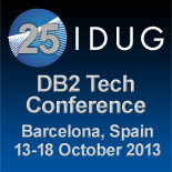 IDUG EMEA 13-18 OCT Barcelona Spain Logo